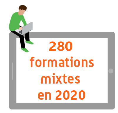 220 formations mixte en 2019